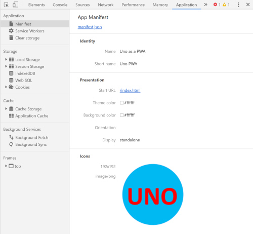 Installing Uno as a PWA with WebAssembly - Nick's  NET Travels