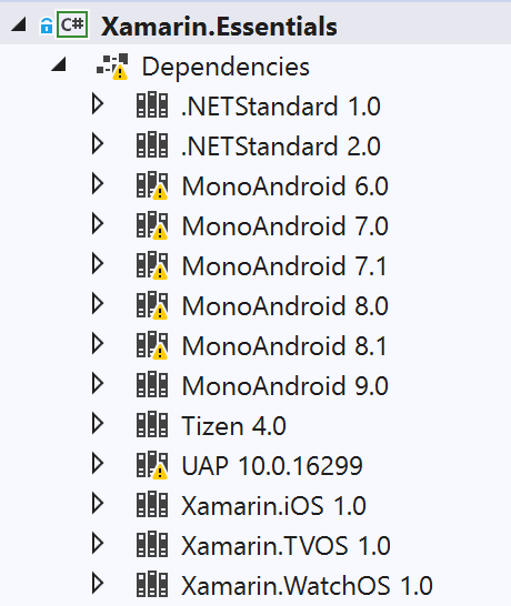 Running Android Device Tests for Xamarin.Essentials on Windows