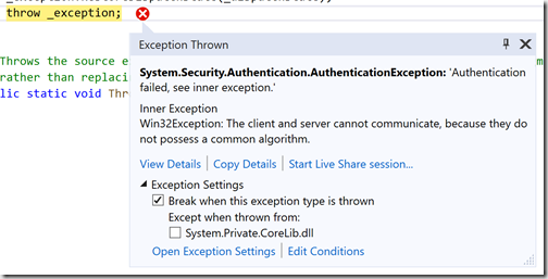 system security securityexception request failed