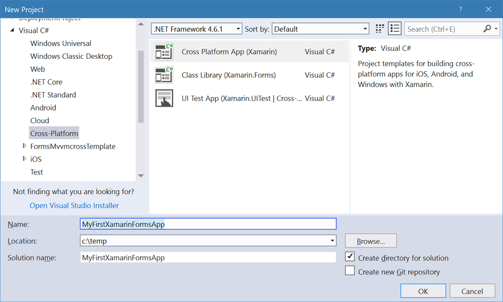 Getting Started: Xamarin Forms with  NET Standard - Nick's