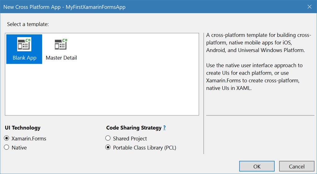 Getting Started: Xamarin Forms with .NET Standard
