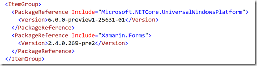 Getting Started: Xamarin Forms with  NET Standard 2 0 - Nick's  NET