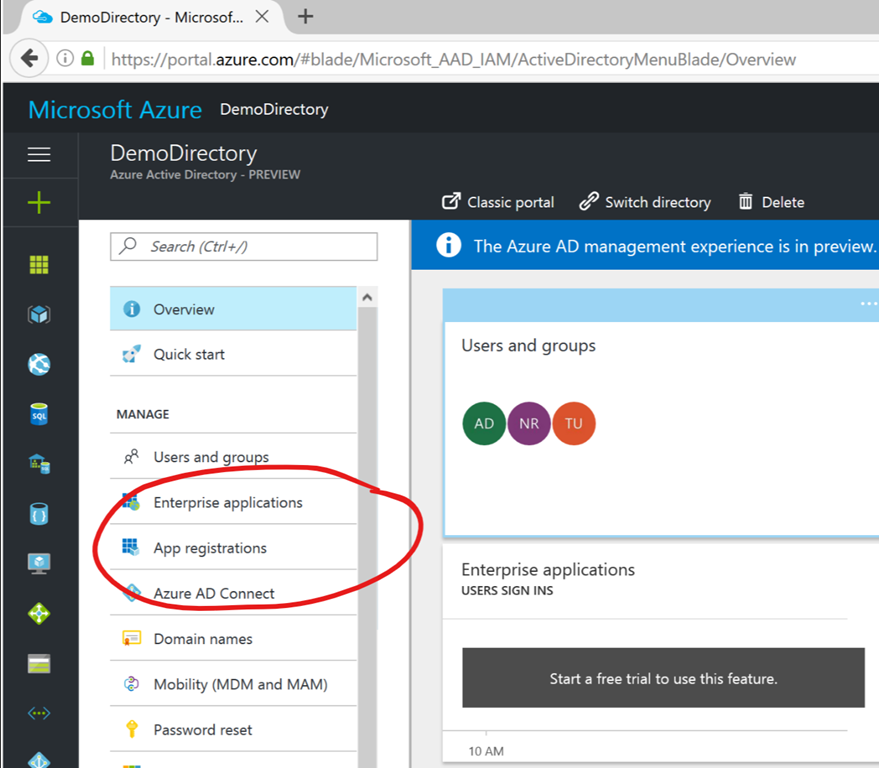 Authenticating an Application using Azure Active Directory - Nick's