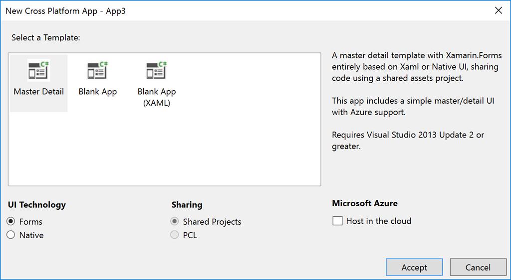Building Cross Platform Applications with Visual Studio 2017
