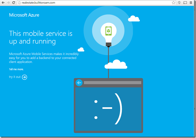 Custom Domains for Azure Mobile Services - Nick's  NET Travels