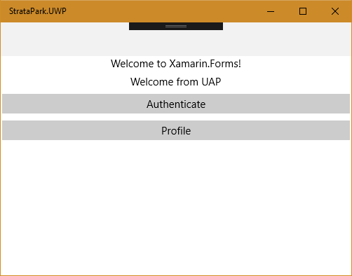 Getting Started with Xamarin Forms and Navigation with
