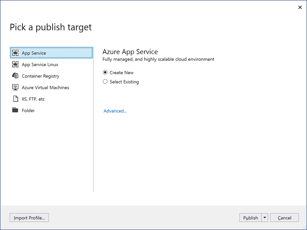 Publishing ASP NET Core 3 Web API to Azure App Service with Http/2