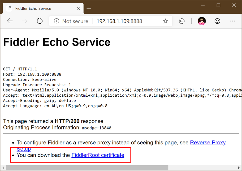 Fiddler Debugging for iOS, Android and Windows Applications