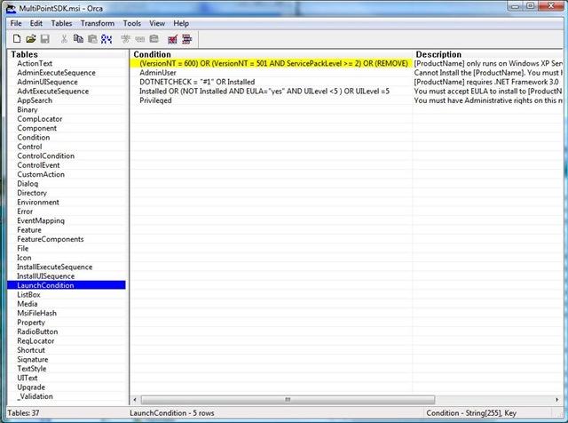 Getting MultiPoint SDK Installed under Windows XP SP3
