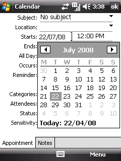 how to set time and date on uniden phone